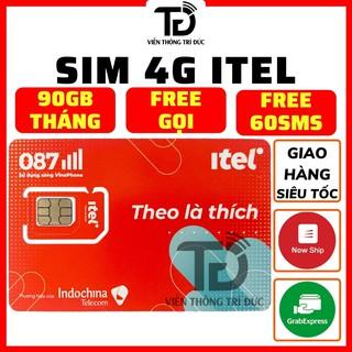 Sim 4G iTel-Vinaphone Gói May – Chỉ 77k Data 3Gb/ngày (90Gb/Tháng) – 4G tốc độ cao Toàn Quốc- Gọi Miễn Phí – Free 60 SMS