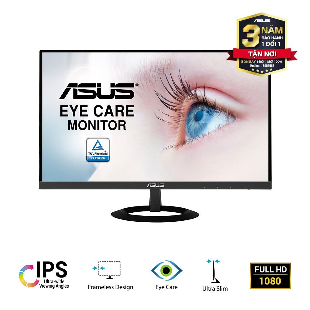 """[Mã ELMALL7 giảm 7% đơn 499K] Màn Hình Siêu Mỏng ASUS VZ229HE 22"""" IPS Full HD Bảo Vệ Mắt, Đen - Hàng Chính Hãng"""