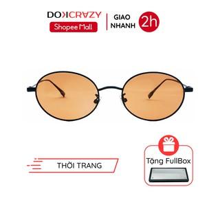 Kính mát dáng oval nhỏ phong cách Âu Mỹ CODY DOKCRAZY mắt râm cao cấp thời trang nam nữ đường phố chống tia UV400