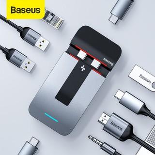 Bộ chia đa năng Baseus 9 in 1 USB C Hub for MacBook Pro-Thunderbolt