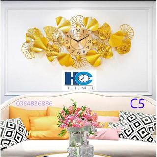Đồng hồ treo tường trang trí C5 Đồng hồ chim công
