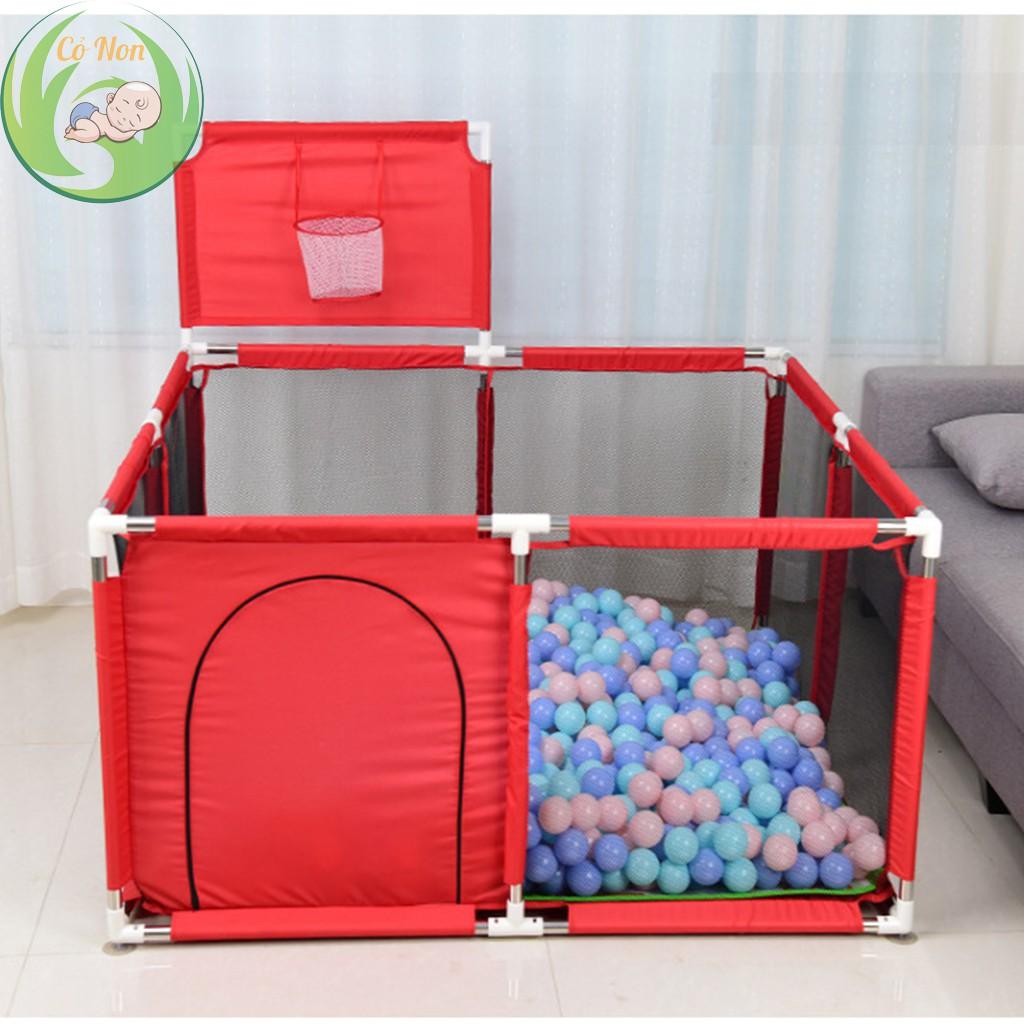 Quây bóng, Lều bóng vuông cho bé có tặng kèm bóng