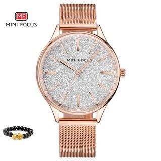 [Tặng vòng tay] Đồng hồ nữ Mini Focus MF0044L.02 chính hãng dây thép không gỉ thumbnail