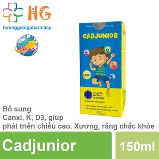 Cadjunior - Giúp Giảm Nguy Cơ Còi Xương Và Thiếu Hụt Canxi thumbnail