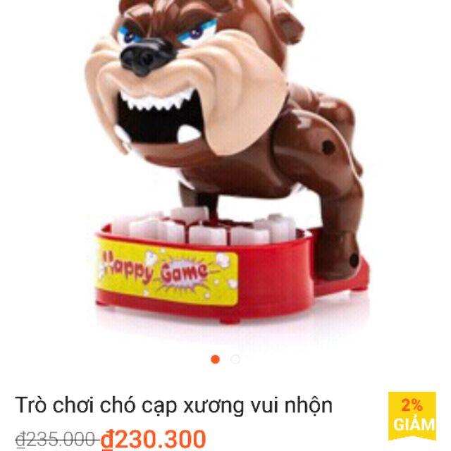 Thanh lí Chó cắp xương to