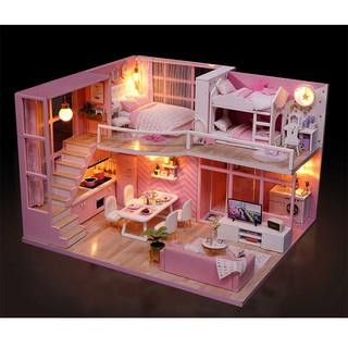Nhà Búp Bê DIY – Dream Angel L-026 ( Tặng Mica + keo)