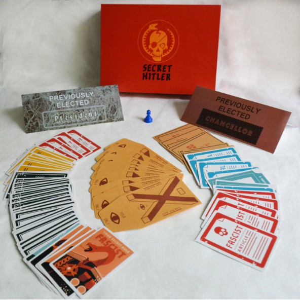 Secret Hitler Card Board Game Puzzle Party Family Friends Children Gaming Toys