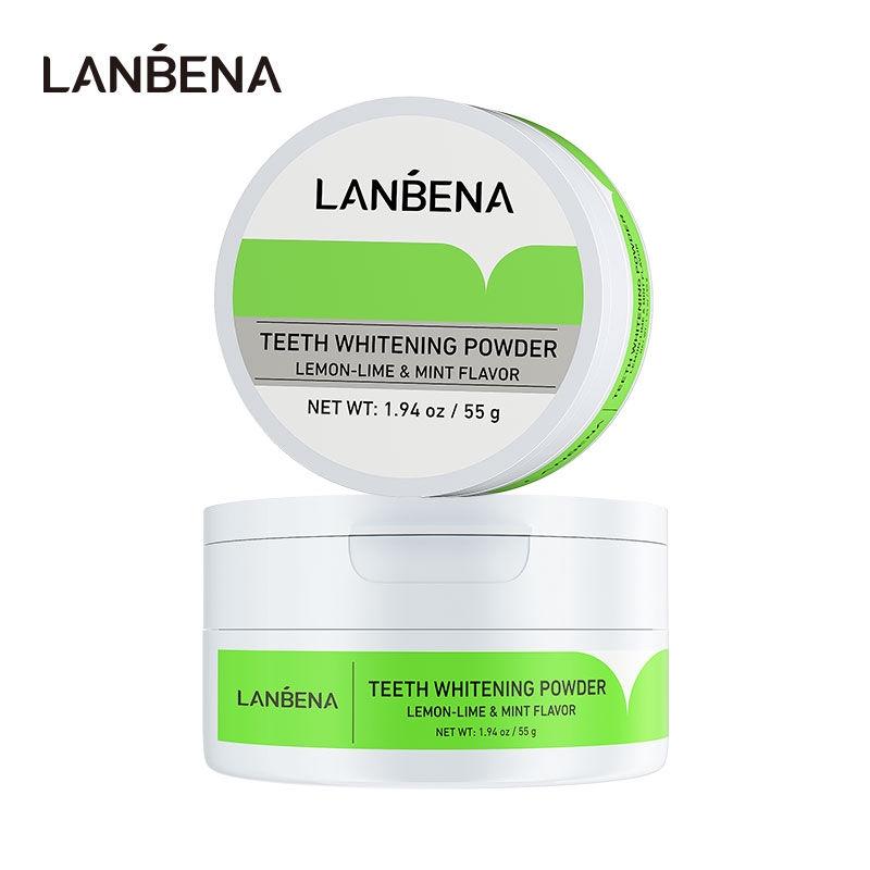Bột làm trắng vết ố răng LANBENA chuyên dụng