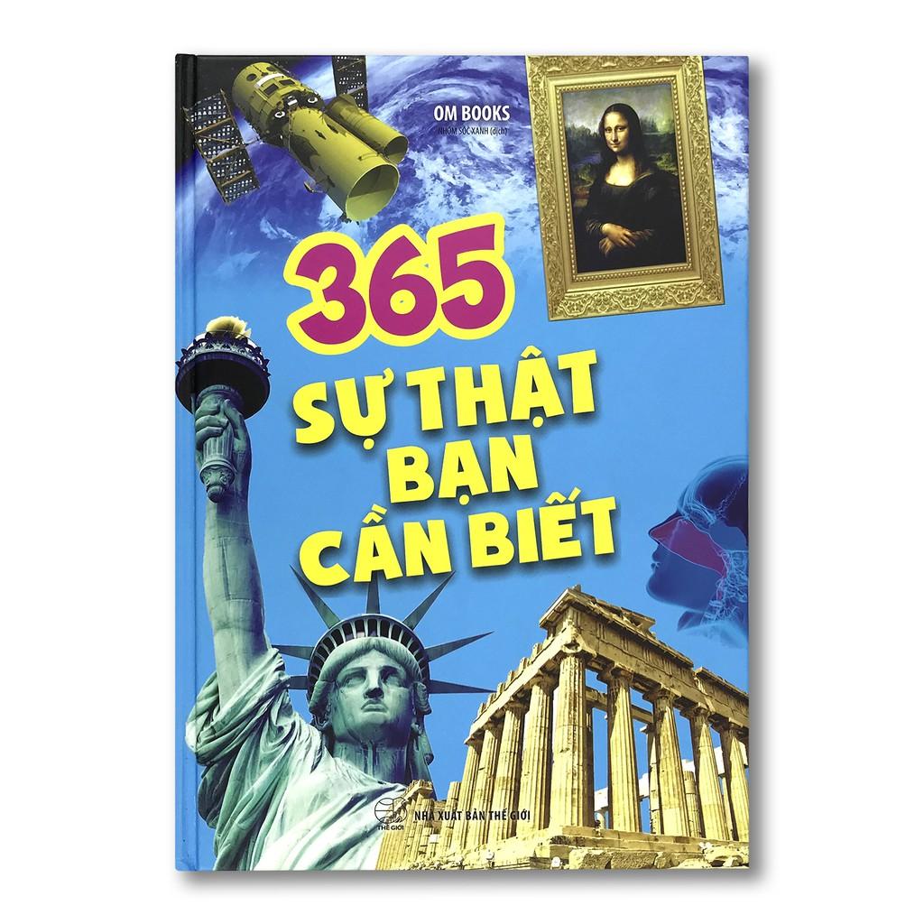 Sách 365 sự thật bạn cần biết