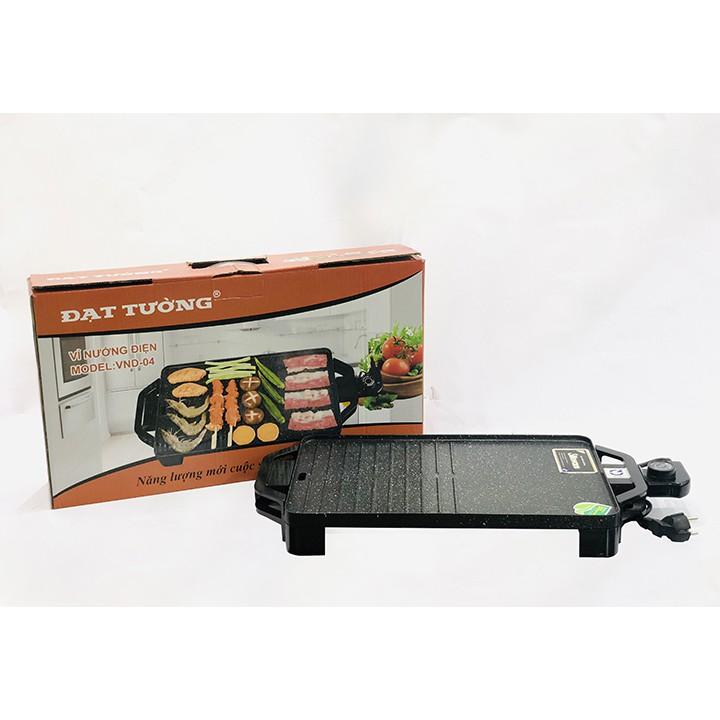 Bếp nướng FREESHIP Bếp nướng điện đa năng chống dính công suất 1800w Đạt Tường