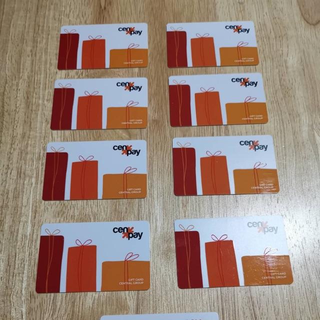ขายบัตร central group gift card มูลค่า 5000