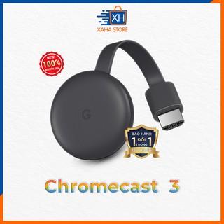 Thiết bị stream TV Google Chromecast 3 ⚡️ BH 12 Tháng ⚡️ Hàng chính hãng ⚡️ New 100%