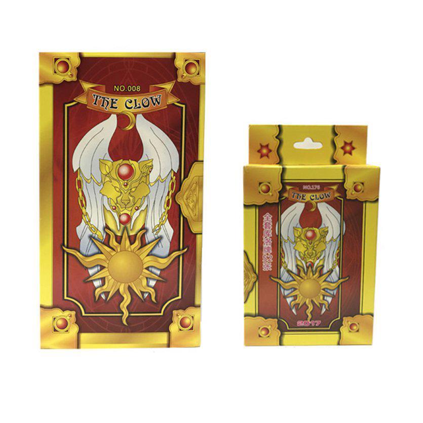 ⚡❄Magic Sakura Cards Captor Game Cards Clow Magic Poker Card Collection Cards