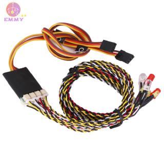 8 LED Light Kit 2 White 2 Red 4 yellow for 1/10 1/8 Traxxas TRX4 HSP SCX10 D90 HPI RC Car
