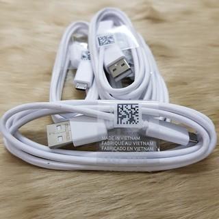 Cáp sạc nhanh, dây sạc Samsung Micro USB chính hãng, MADE IN VIETNAM dùng để sao chép dữ liệu, sạc điện thoại