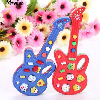 🏆Electronic Guitar New Toy Nursery Rhyme Music Children Kids Educational