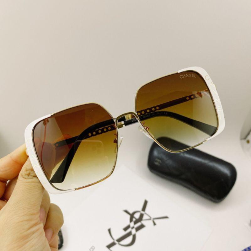 mắt kính thời trang nữ kiểu dáng sang trọng và chống UV 400