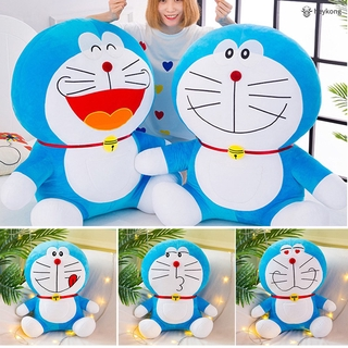 /HK/ Doraemon Doll Plush Soft Toy Large Jingle Cat Doll Cartoon Anime For Girls Birthday Gifts