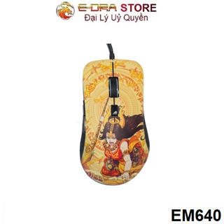 Chuột Game EDRA EM640 Lạc Hồng, Độ Phân Giải 12000 DPI, Switch Hunao 50M thumbnail