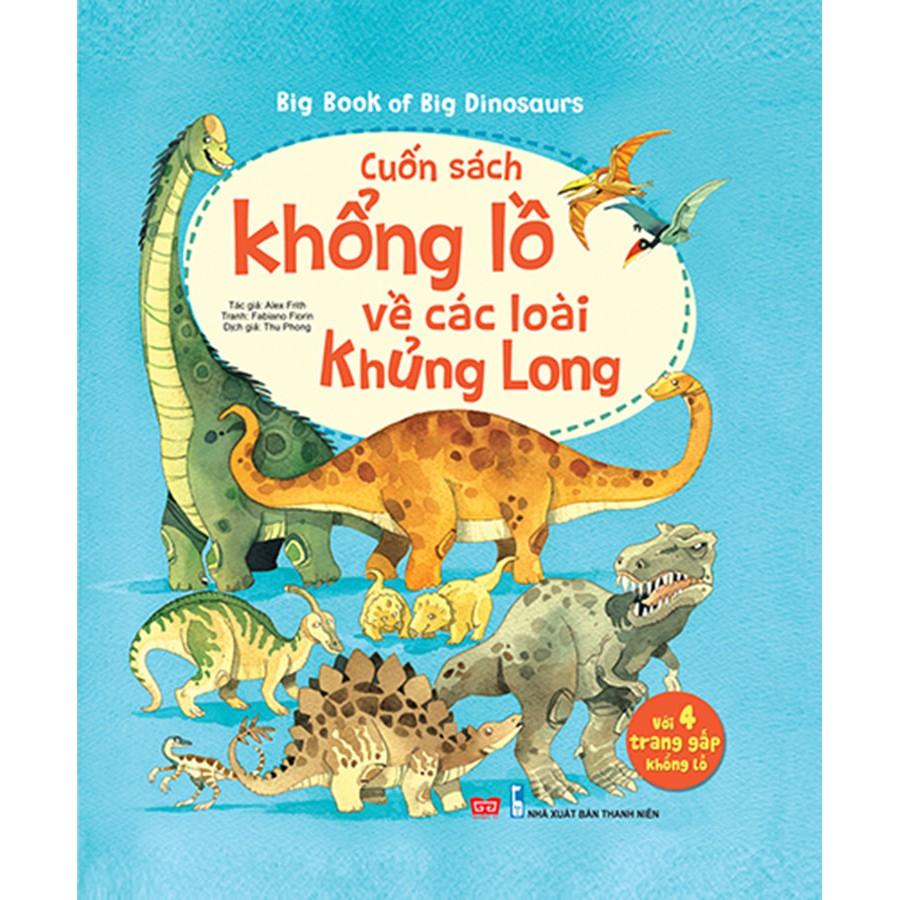 Sách - Big book về các loại khủng long