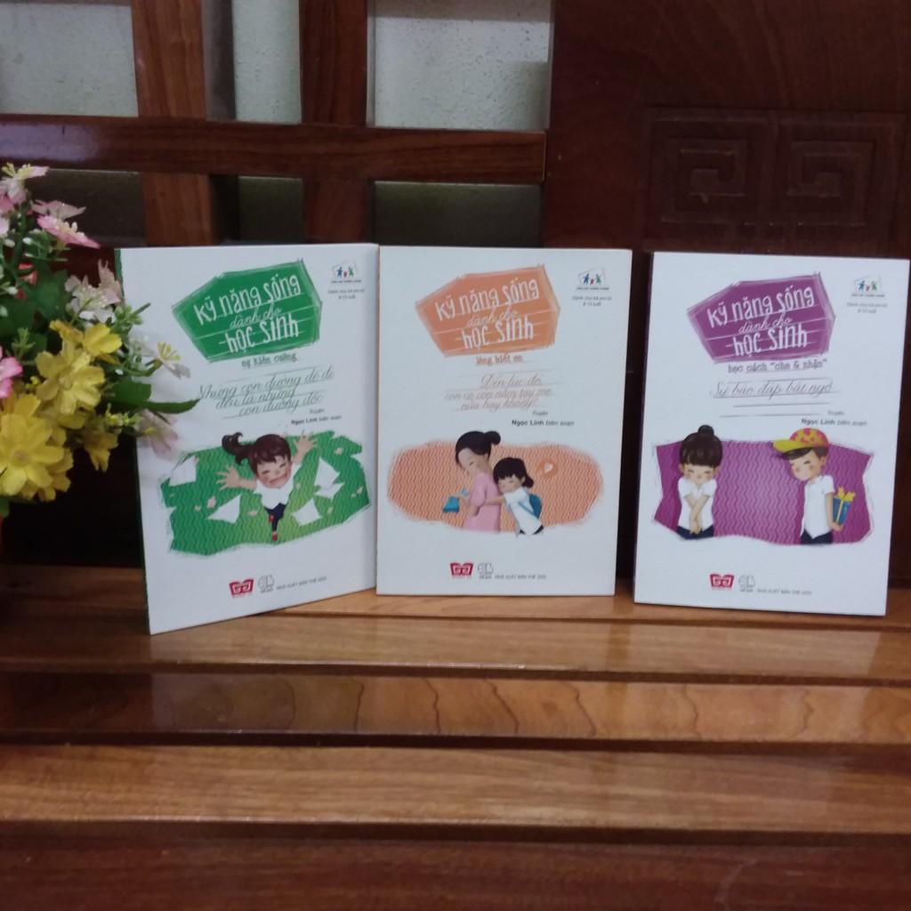 Sách - Bộ 3 cuốn sách Kĩ năng sống cho học sinh - 9786047715534