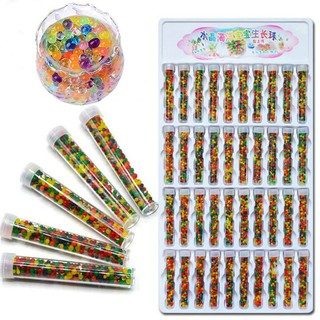 40 Bottle Absorbent Beads SpongeBob Crystal Mud Water-Absorbing Beads JP0600