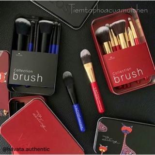 Hộp Cọ Màu Đỏ 6 Cây Vacosi My Darling Collection Brush thumbnail