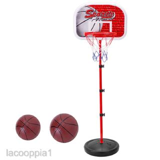 58 Inch Mini Adjustable Basketball Stand Kids Ball Sport Game Toy Kit