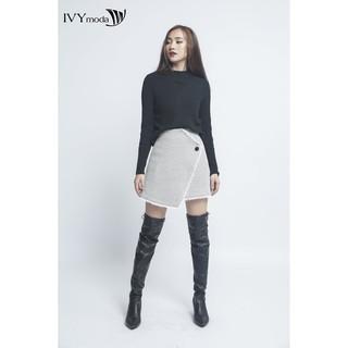Áo len nữ dài tay cổ đứng IVY moda MS 58B5843 thumbnail