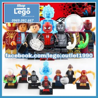 Xếp hình Lego Spider-Man Far For Home Lego Minifigures Xinh X0266 thumbnail