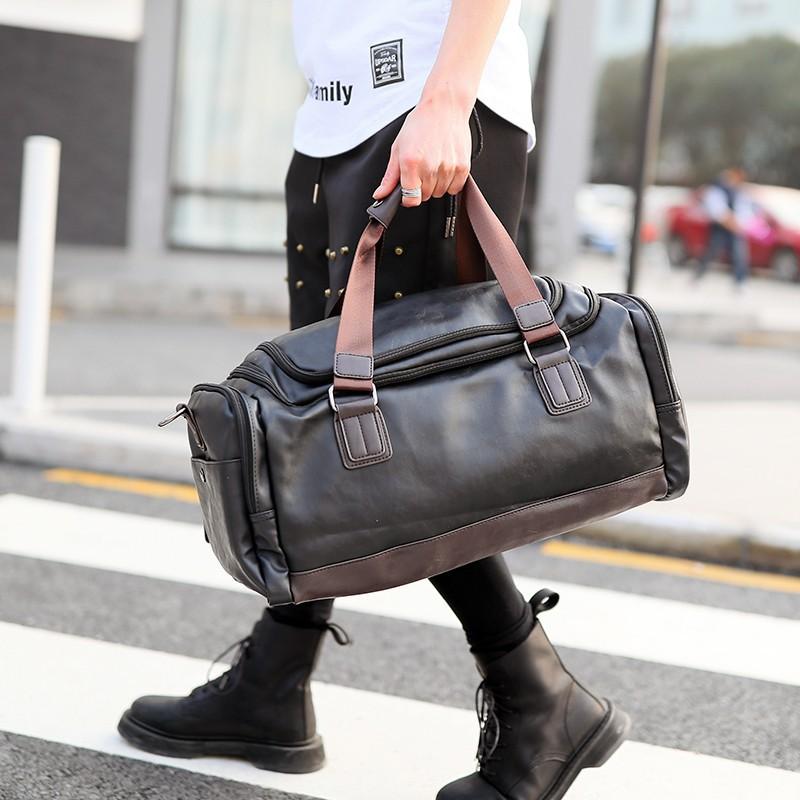 Túi da du lịch thời trang Hàn TD21