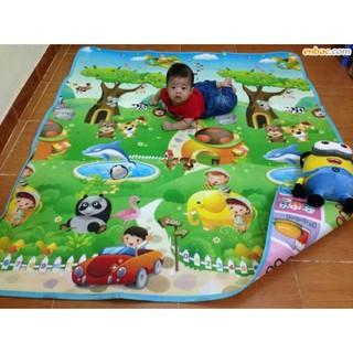 Thảm maboshi hàng loại 1 dày đẹp cho bé ngồi chơi, học, trải thay chiếu