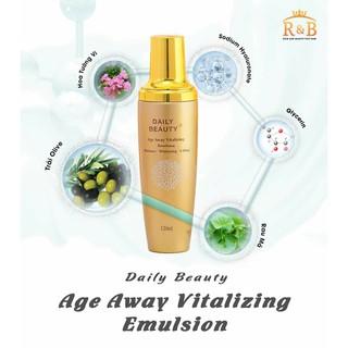 [FREESHIP-HÀNG MỚI] Sữa dưỡng Daily Beauty Age Away Vitalizing Emultion 120ml Hỗ Trợ Mờ Nếp Nhăn, Chống Lão Hóa thumbnail