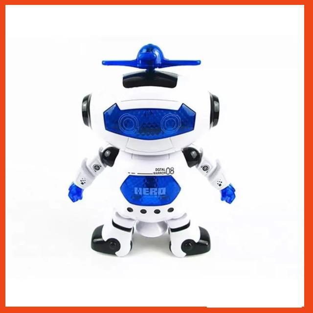 (GIÁ HỦY DIỆT) Đồ chơi Robot thông minh nhảy múa hát xoay 360 độ(Nhiều màu)