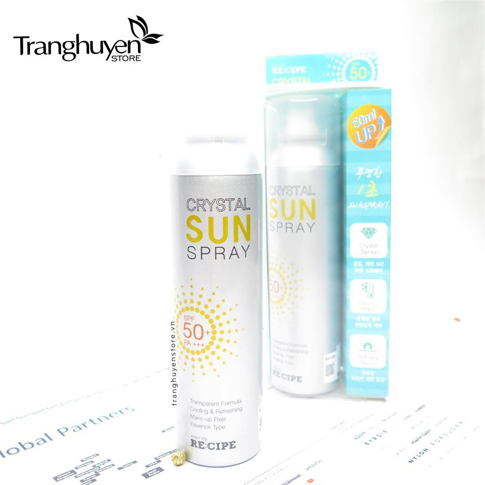 XỊT CHỐNG NẮNG CRYSTAL SUN SPRAY [ AUTH ]