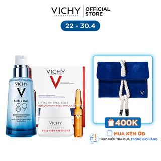 """Bộ serum khoáng phục hồi chuyên sâu và làm sáng da Vichy Mineral 89 giá chỉ còn <strong class=""""price"""">77.900.000.000đ</strong>"""