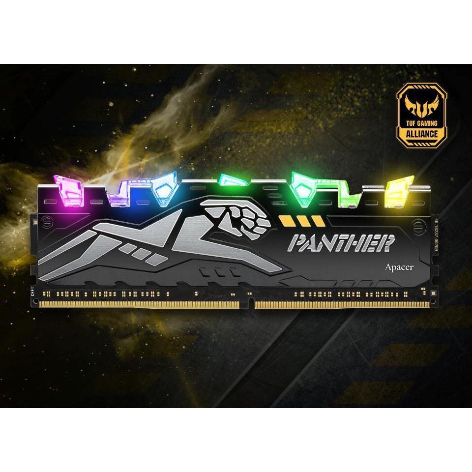 Ram Apacer Panther Rage RGB 8GB (1x8GB) DDR4 bus 2666Mhz CL16