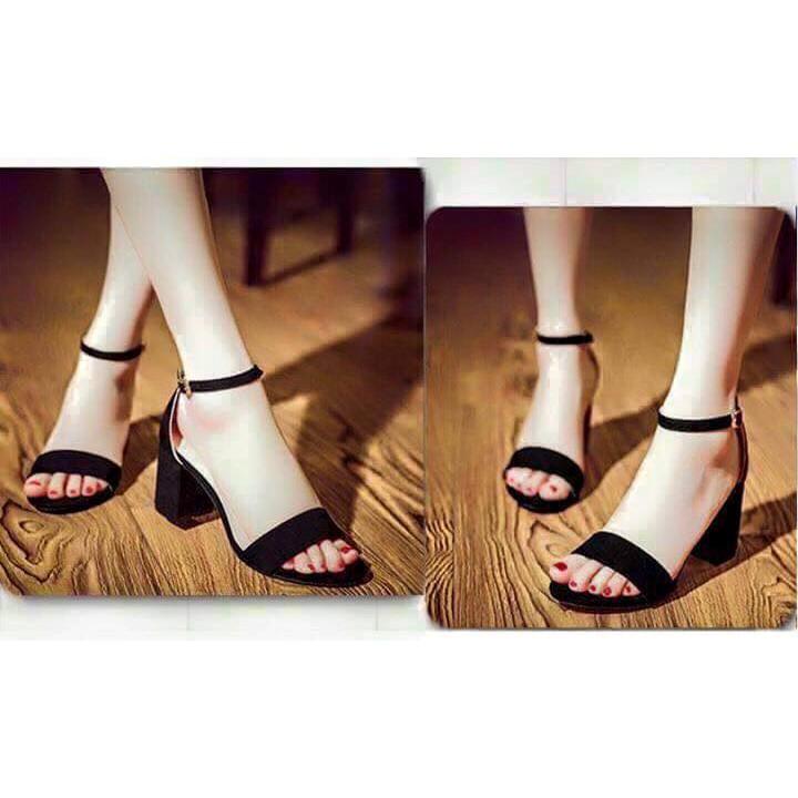 sandal cao gót 5p