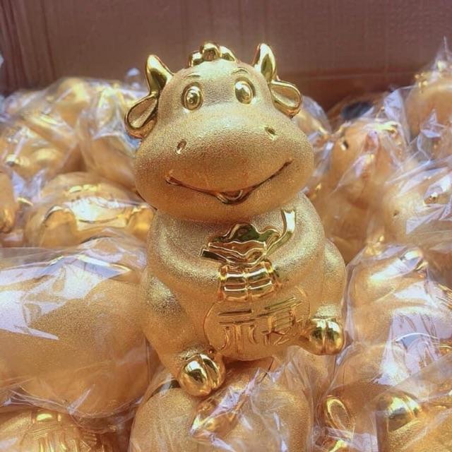 Trâu vàng tiết kiệm cực xinh cho con