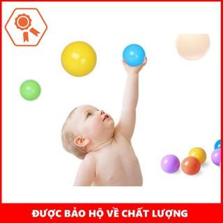 [BÁN CHẠY] 100 Quả Bóng Nhựa Cho Bé Yêu