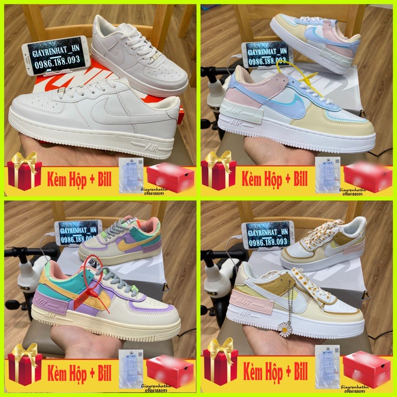 GIÀY THỂ THAO TRẮNG FULL SIZE 36-44