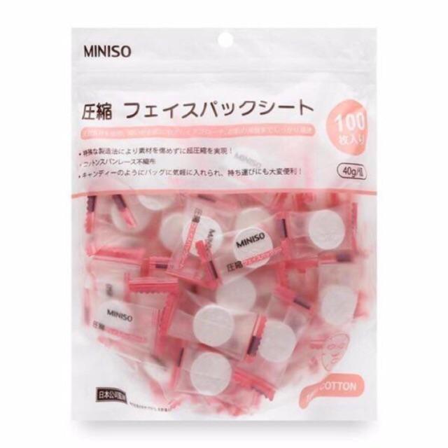 Mặt Nạ Giấy Nén Miniso Nhật Bản (gói 100 miếng) - 10045106 , 364648767 , 322_364648767 , 90000 , Mat-Na-Giay-Nen-Miniso-Nhat-Ban-goi-100-mieng-322_364648767 , shopee.vn , Mặt Nạ Giấy Nén Miniso Nhật Bản (gói 100 miếng)