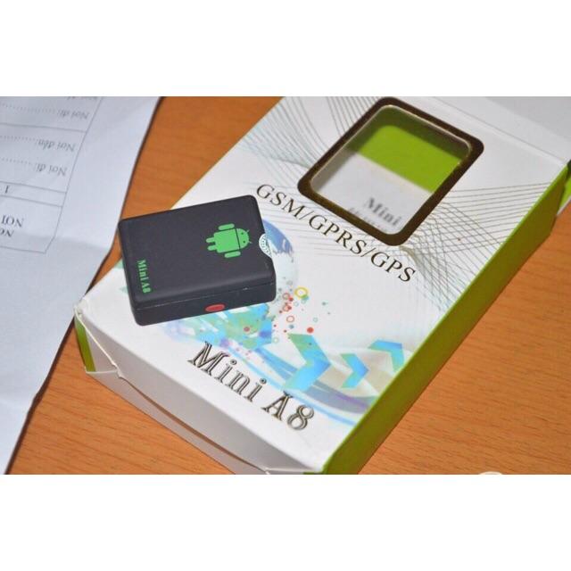 [SALE 10%] Bộ định vị phòng mất trộm xe dùng sim 3G Mini A8