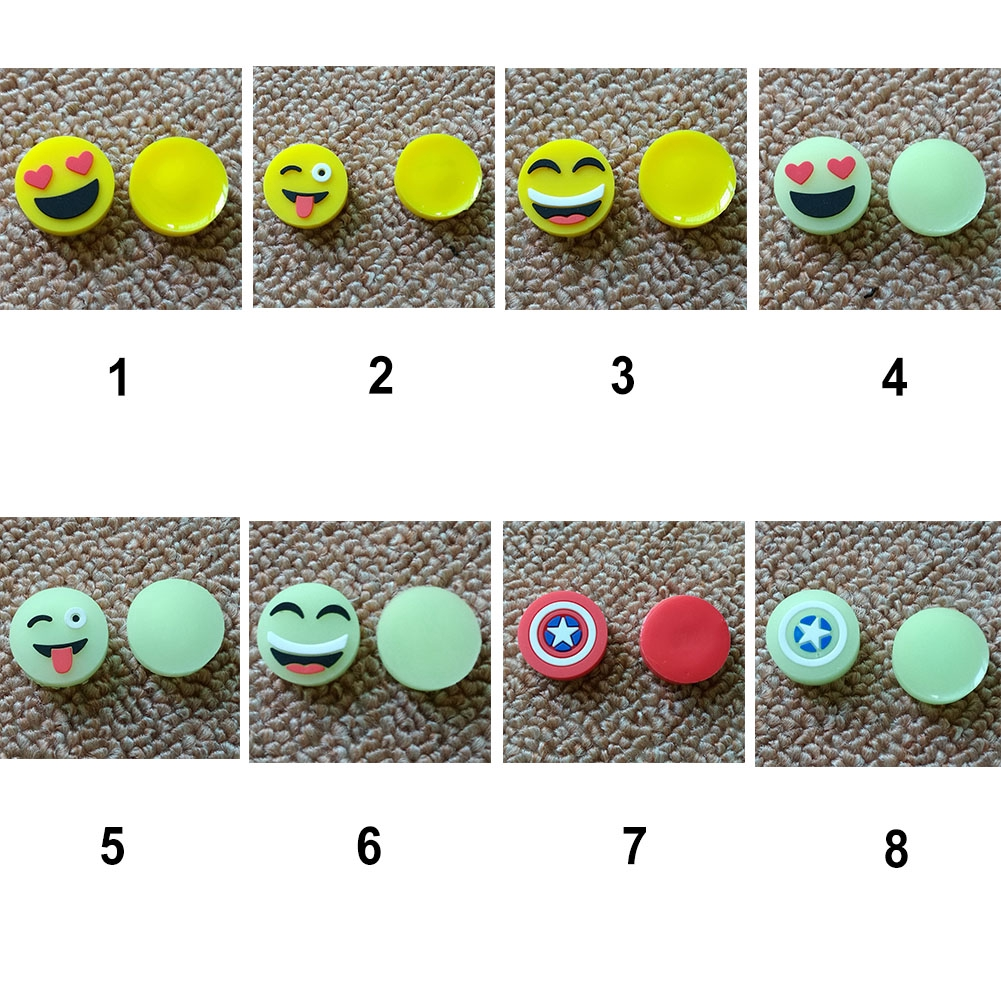 Fidget spinner DIY Funny Smile Face Fingertip gyro accessories cute Glowing smile face hand accessory