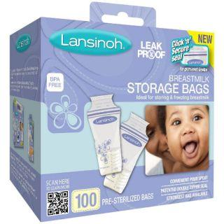 Túi trữ sữa Lansinoh hộp 100 chiếc
