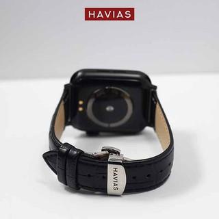Dây đồng hồ Apple Watch HAVIAS Black Lux9 Silver