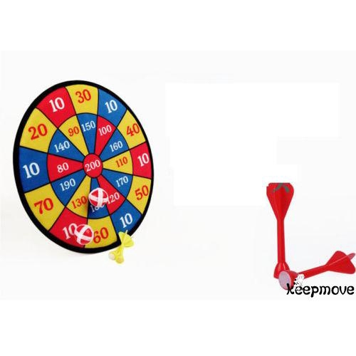KN.-Board Darts Suit Double-sided Plates For Indoor Fun Friend Family Games