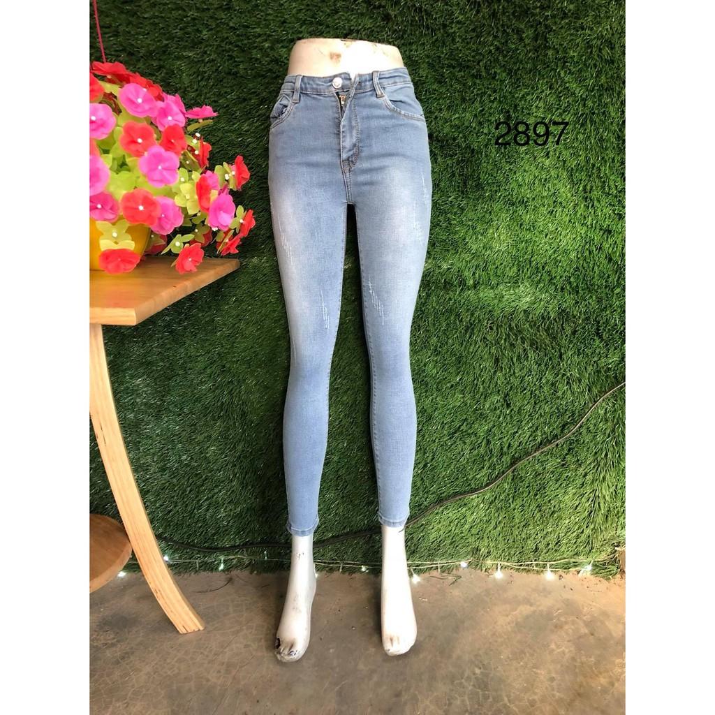 quần jean nữ xanh sáng