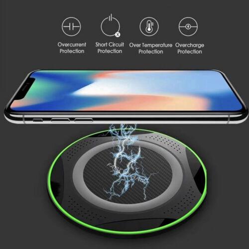 Đế sạc không dây hỗ trợ sạc nhanh cho iPhone 11 Pro Max X XR Pad Samsung Vivo OPPO Phone 10W