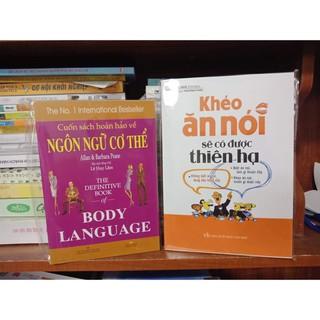 Combo 2 cuốn ngôn ngữ cơ thể, khéo ăn nói